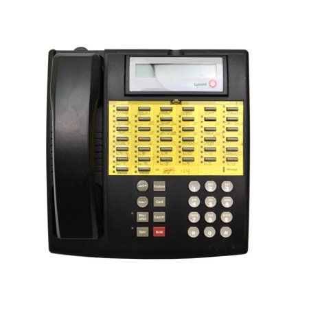 107305054 34D Avaya Lucent Partner Black 36 Button Office Digital Display Phone Networking Phones / Telephones - Used Very