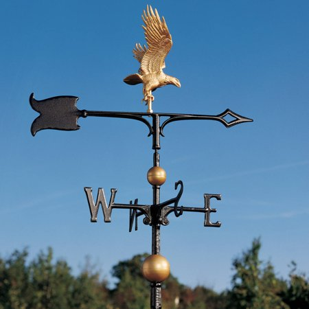 Weathervane Stand (30 Full-Bodied Eagle Weathervane,)