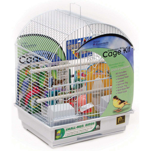 Prevue Pet Products Round Top Parakeet Cage Kit 91102