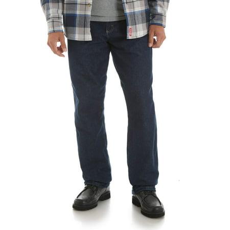 Wrangler Bag - Big Men's Fleece Lined Carpenter Pant