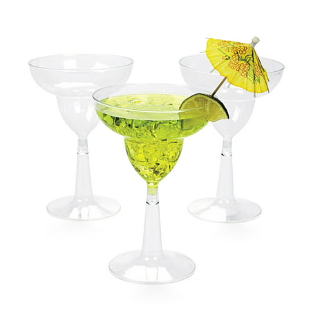 Generic Margarita 10oz. Plastic Glasses (20 Count) ()