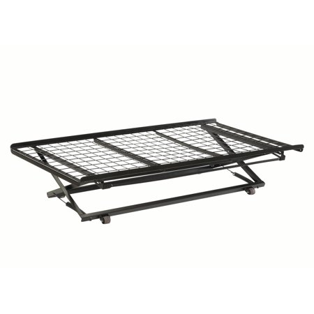 Coaster Company Classic Twin Pop-Up Trundle Bed, Black