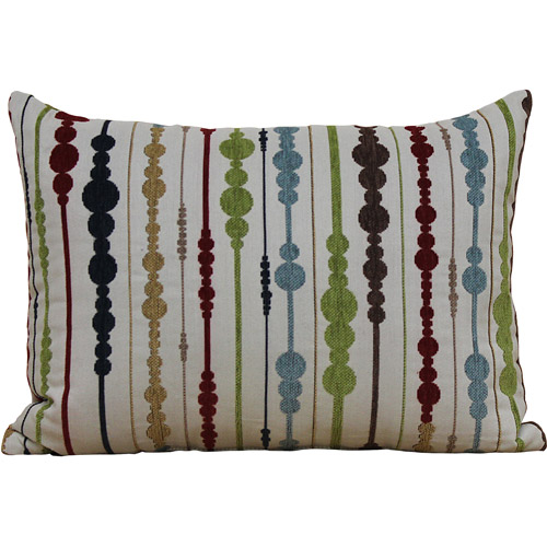 Better Homes and Gardens Ivory Dot Oblong Decorative Pillow