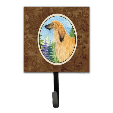 Caroline's Treasures Afghan Hound Leash Holder and Wall Hook