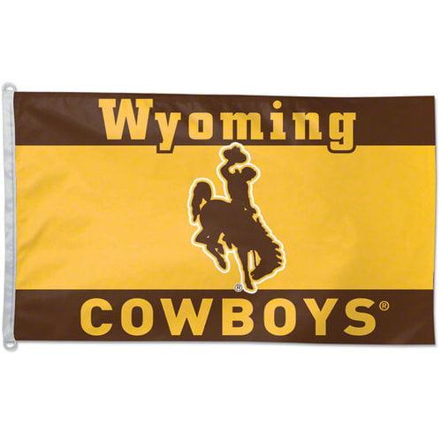 NCAA - Wyoming Cowboys 3x5 Flag