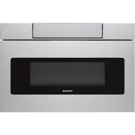 """Sharp SMD2470A 24"""" Wide 1.2 Cu. Ft. Microwave Drawer with Push Button Opening"""