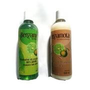Set of Bergamot Shampoo and Conditioner 500ml, Shampoo y Acondicionador de Bergamota