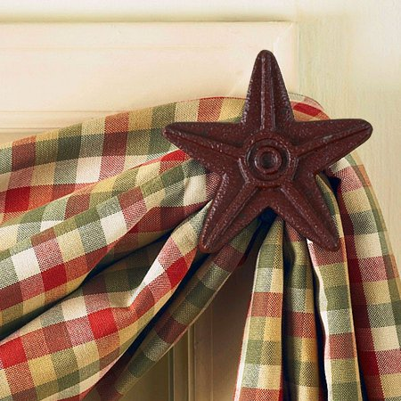 Red Star Cast Iron Curtain -