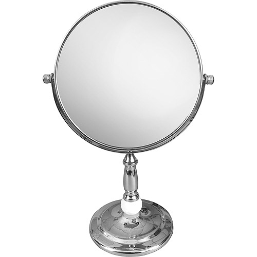 freestanding bathroom mirrors freestanding bath magnifying makeup mirror walmart 12913