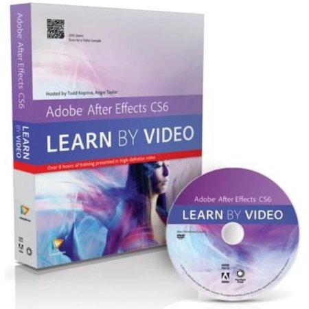 Adobe After Effects Cs6: Learn by Video [With DVD]