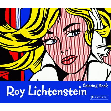 Roy Lichtenstein Coloring Book - Roy Lichtenstein Halloween