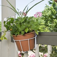 Adjule Flower Pot Holder Deck Railing Planters