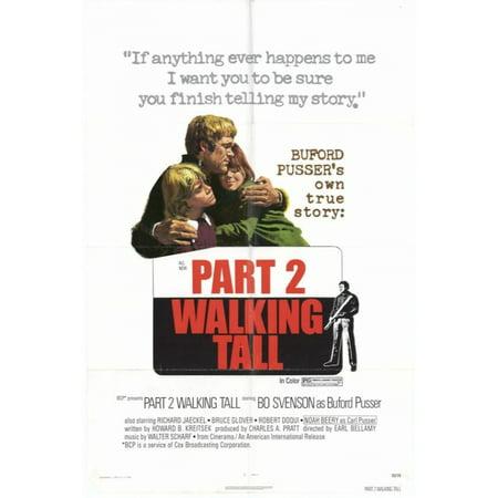 Walking Tall Part 2 Movie Poster Print  27 X 40