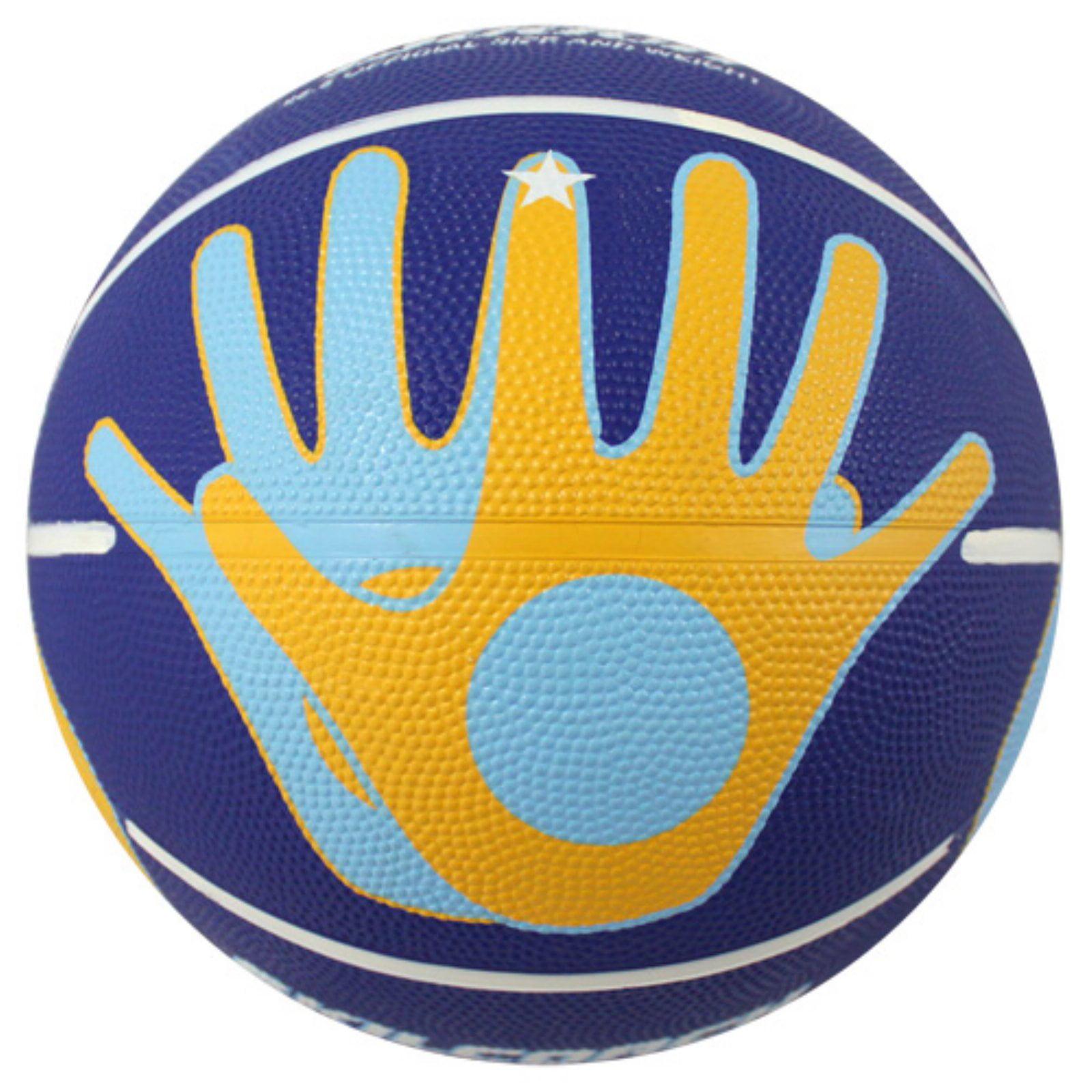 Baden SkilCoach Shooter's Rubber Basketball Size 5 by Baden
