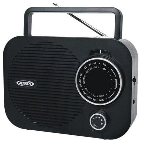 Jensen MR-550, Portable AM/FM Radio with Aux