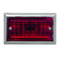 FLUSH MOUNT CLEARANCE LIGHT RED