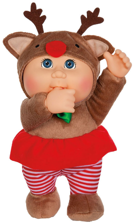 Cabbage Patch Kids Holiday Helpers Everly Reindeer Plush by