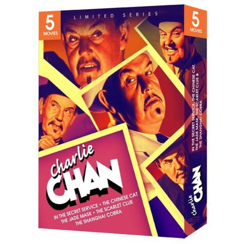 Charlie Chan 5 Movie Gift Box Set (Limited Series) by