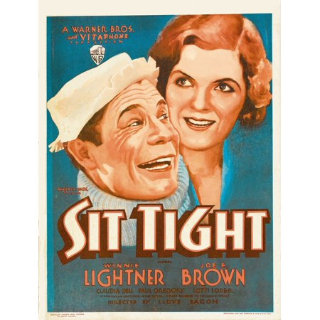 Sit Tight Stretched Canvas -  (11 x 17) (Sit Tight)