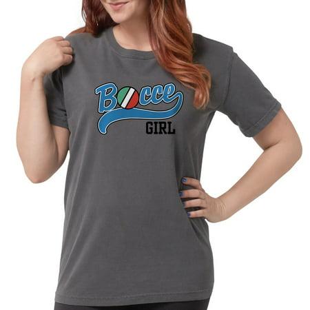 b5a6584aa CafePress - Bocce Girl T Shirt - Womens Comfort Colors? Shirt - Walmart.com