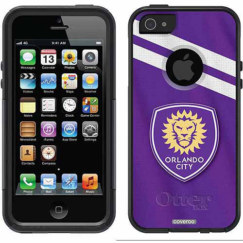 apple iphone sc orlando city sc jersey design on otterbox commuter series 10138