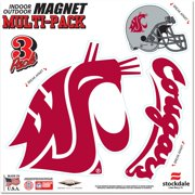 Washington State Cougars WinCraft 8'' x 8'' Outdoor Magnet
