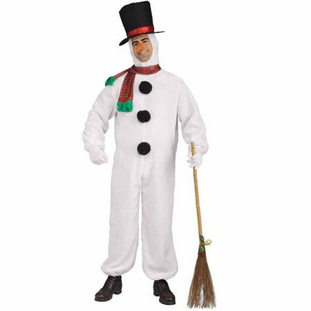 Plush Snowman Men's Adult Halloween - Make Your Own Snowman Costume