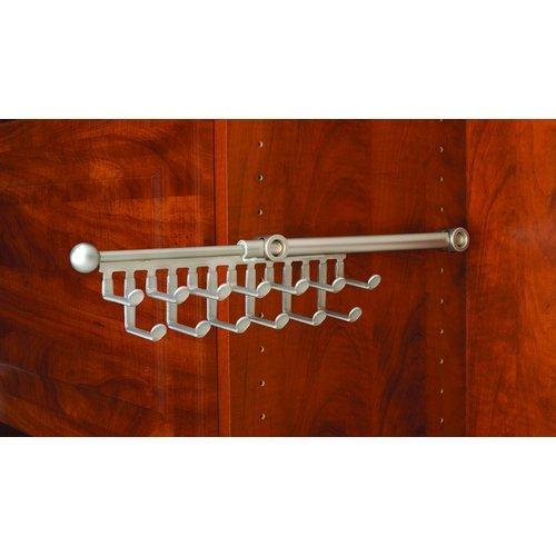 Rev-A-Shelf  CTR-12  Tie Racks  CTR  Closet Organizers  ;Satin Nickel