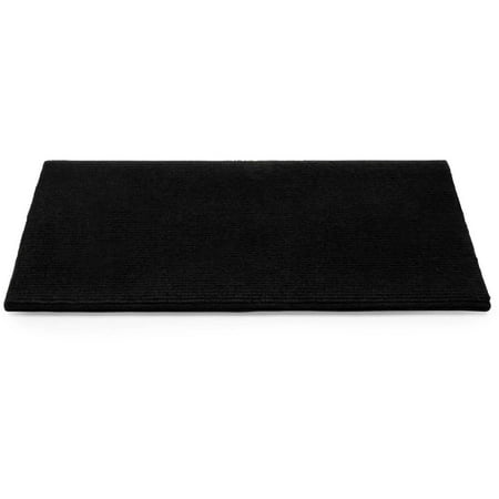 Camco 42904 Premium Wrap Around RV Step Rug, Single Rib Design, 100 Percent Polyester (17.5
