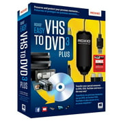 Corel 251000 Easy VHS to DVD V.3.0 Plus Complete Product 1 User CD/DVD Burning Standard Retail PC English