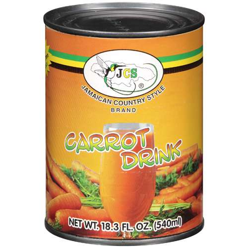 020502131668 UPC JCS Jamaican Country Style Brand Carrot Drink