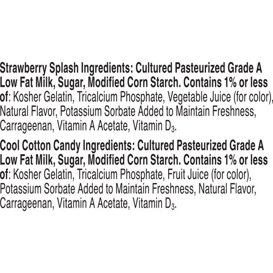 Yoplait Strawberry Splash & Cool Cotton