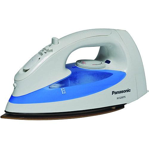Panasonic 1430-Watt Steam Iron with Round Ride Soleplate