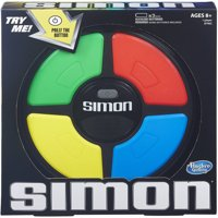 Simon Game by Hasbro, for Ages 8 and Up, for 1 or More players