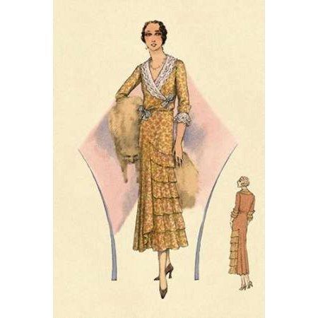 Modeles Originaur For a Daytime Affair Poster Print by Vintage Fashion