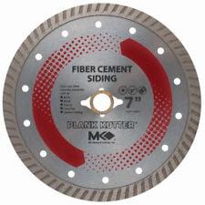 "MK Diamond 157420 7"" Plank Kutter Fiber Cement Siding Blade"