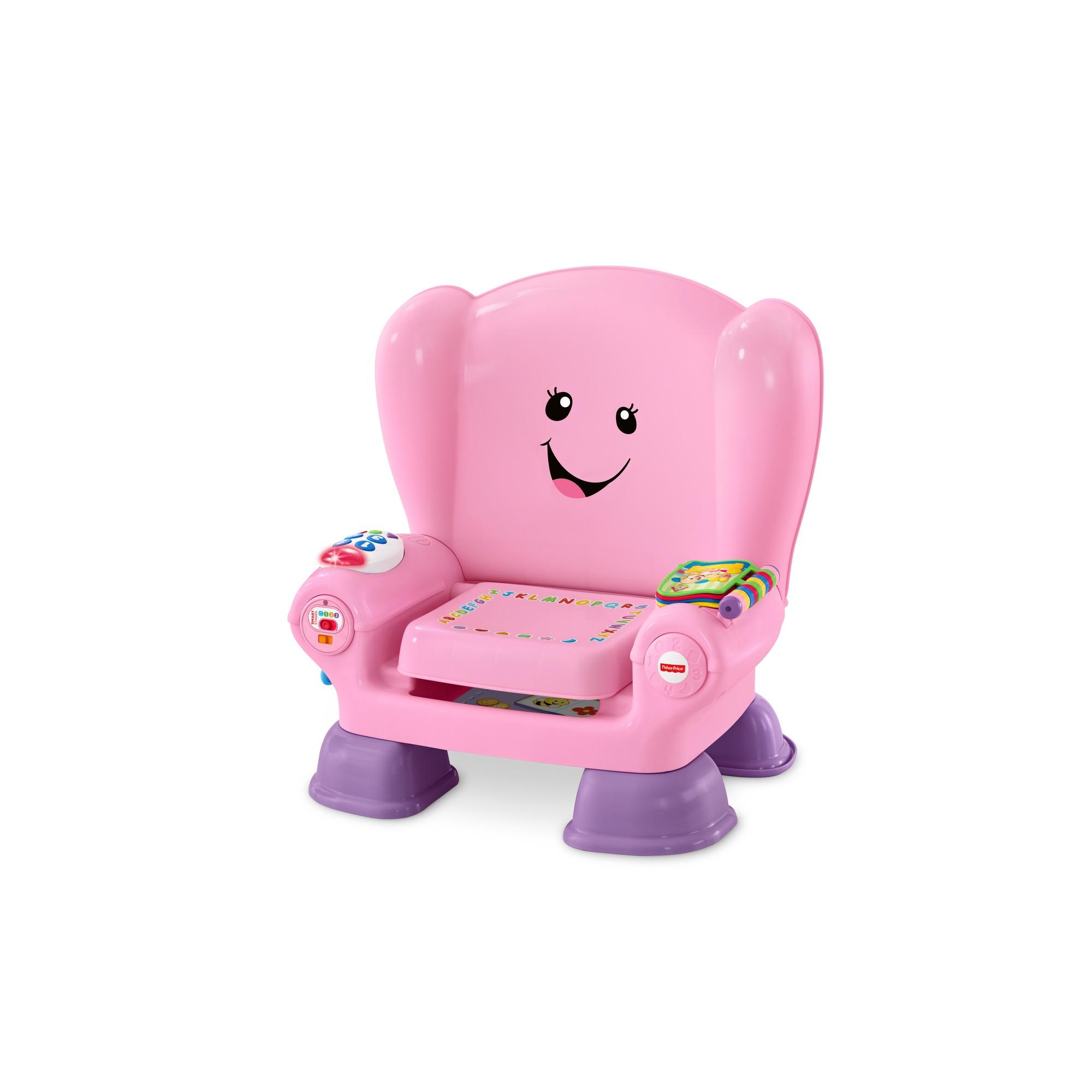 Fisher-Price Laugh & Learn Smart Stages Chair, Pink
