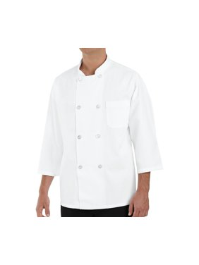 Men's ¾ Sleeve Chef Coat