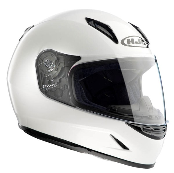 HJC CL-Y Youth Solid Street Helmet White