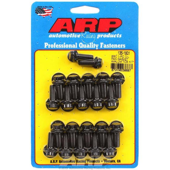 ARP 134-1801 12-Point Oil Pan Bolt Kit for Small Block Chevy