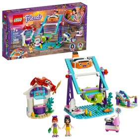 Lego Friends Mia S Horse Trailer 41371 Building Kit With Mini Dolls Walmart Com Walmart Com