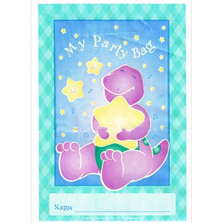 Barney Party Supplies (Barney 1st Birthday Favor Bags)