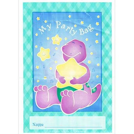 Barney 1st Birthday Favor Bags (8ct)