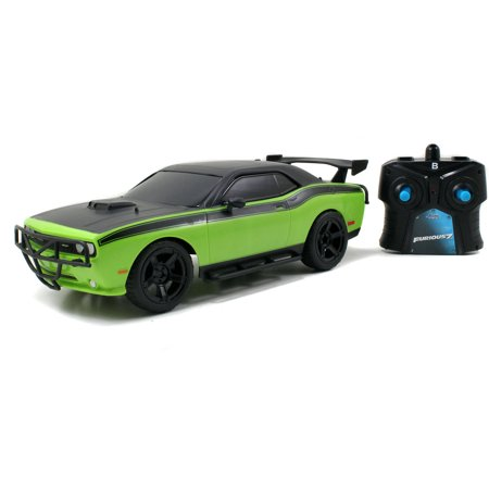 Jada Toys Fast and Furious 1/16 Remote Control 1970 Dodge Challenger