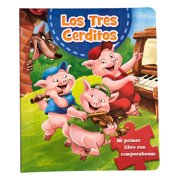 "Books in Spanish My First Book with Puzzle ""Los 3 Cerditos"" (Libros en Español Mi primer libro con rompecabezas))"