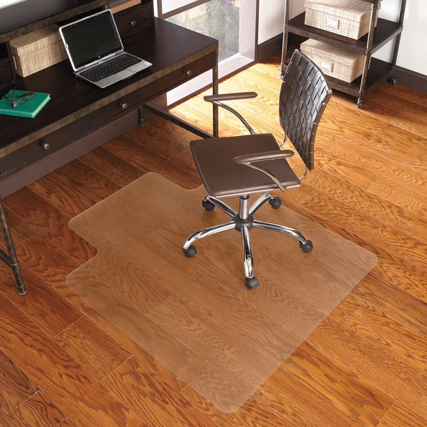 Es Robbins Everlife Chair Mat For Hard, How To Protect Laminate Flooring From Chairs