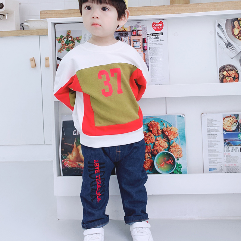 Jeans Costume For Boys Set Baby Boys Clothing Autumn Winter Long Sleeve