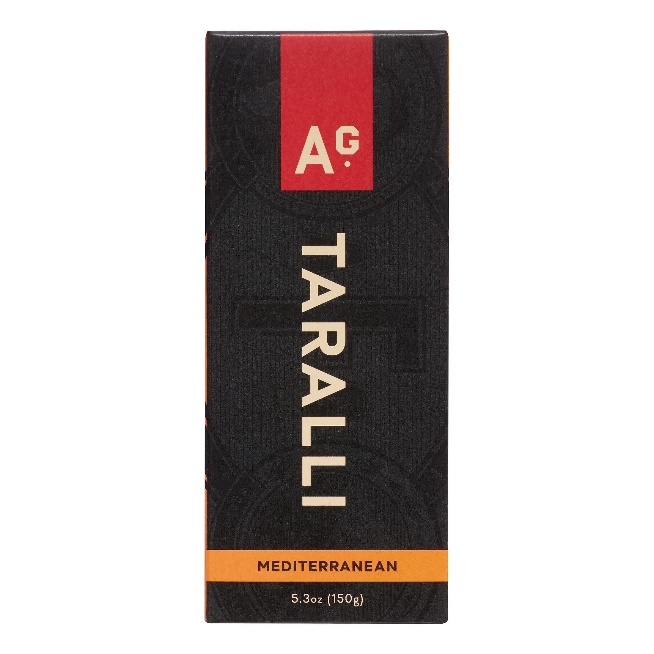 Image of A.G. Ferrari Taralli Crackers, Mediterranean, 5.3 Oz