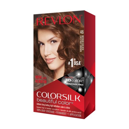 Revlon Colorsilk Beautiful Color Hair Color Medium Golden Chestnut