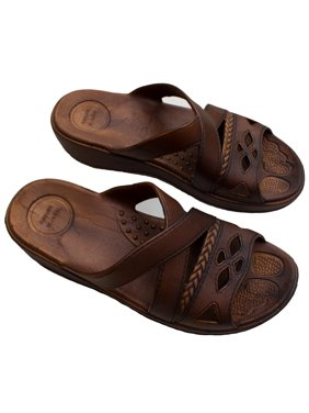 bcd03998ef2 Product Image Womens Comfort and Stylish Hawaii Sandals Brown Slipper (Size  LL)